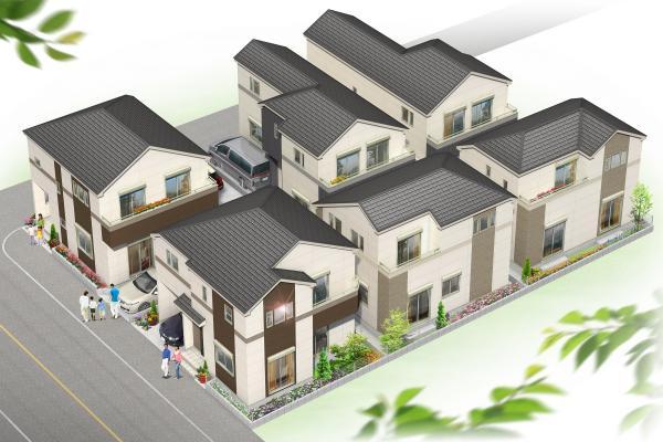 立川・栄町  新築戸建  4号棟の画像