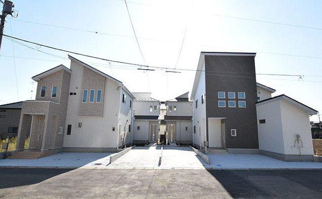 佐野市奈良渕町 新築分譲住宅全4棟の画像