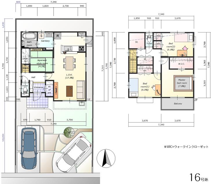 【ダイワハウス】セキュレア港区茶屋III (分譲住宅)の画像