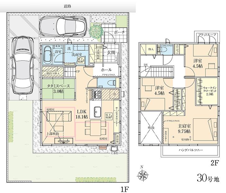 【ダイワハウス】セキュレア流山おおたかの森I C30街区(分譲住宅)の画像