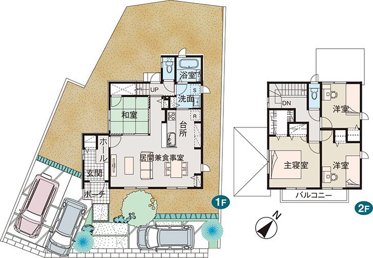 【ダイワハウス】浅川テラス (分譲住宅)の画像