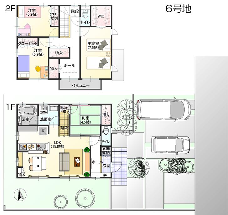 【ダイワハウス】セキュレアときめき西 (分譲住宅)の画像