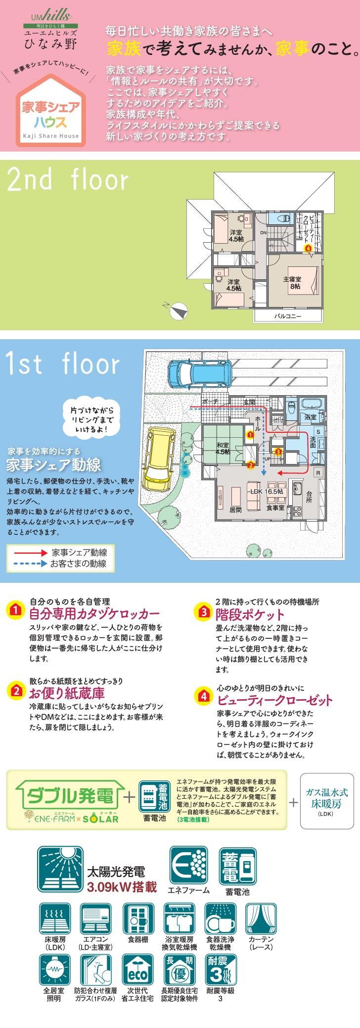 【ダイワハウス】ユーエムヒルズひなみ野 (分譲住宅)の画像