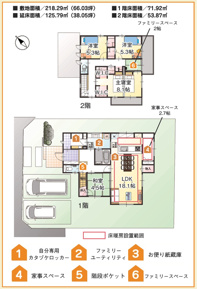 【ダイワハウス】まちなかジーヴォ中込 「家事シェアハウス」(分譲住宅)の画像