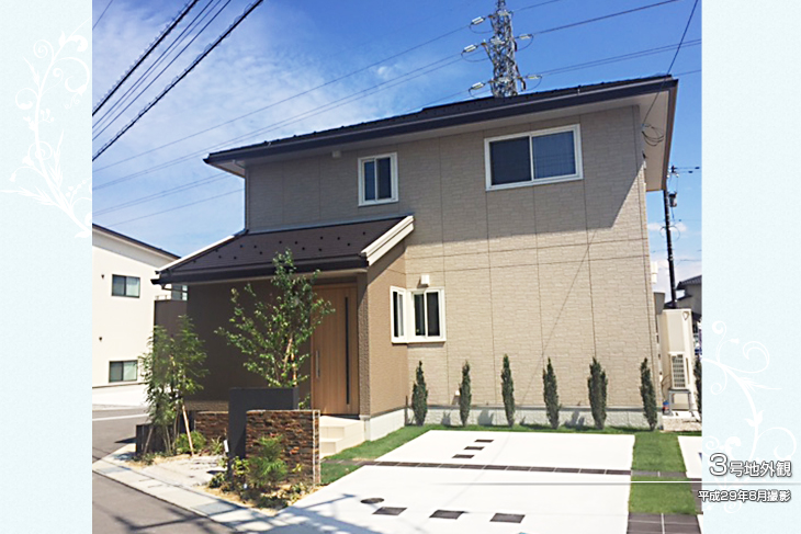 【ダイワハウス】セキュレア高岡駅南 3号地(分譲住宅)の画像