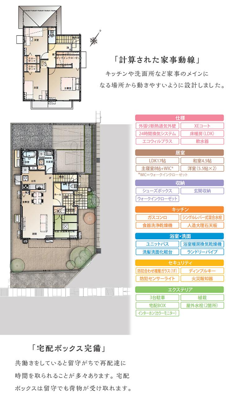 【ダイワハウス】セキュレア宝町 (分譲住宅)の画像