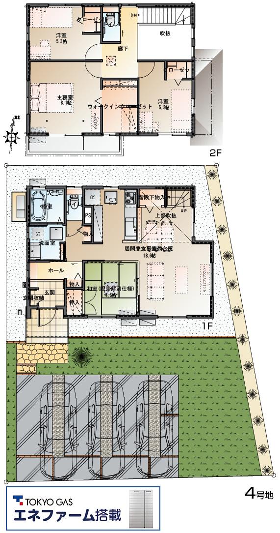 【ダイワハウス】セキュレア鶴田町II (分譲住宅)の画像