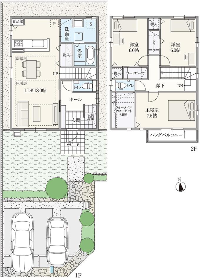 【ダイワハウス】セキュレア鏡島南 (分譲住宅)の画像
