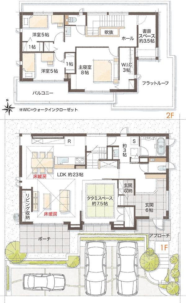 【ダイワハウス】まちなかジーヴォ渋見町 (分譲住宅)の画像