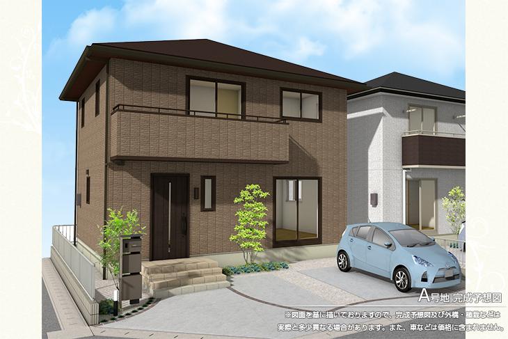 【ダイワハウス】セキュレア新三本木 (分譲住宅)の画像