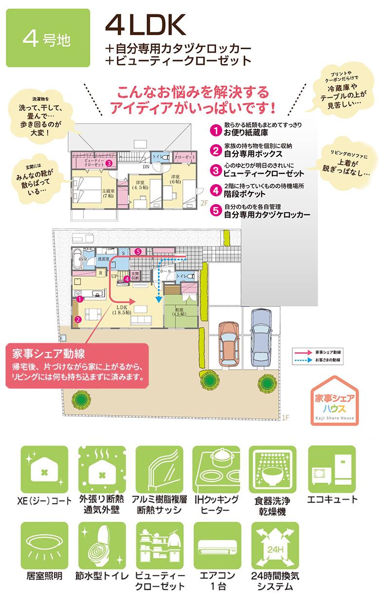 【ダイワハウス】セキュレア見和「家事シェアハウス」 (分譲住宅)の画像