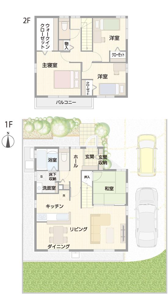 【ダイワハウス】セキュレア出北II (分譲住宅)の画像