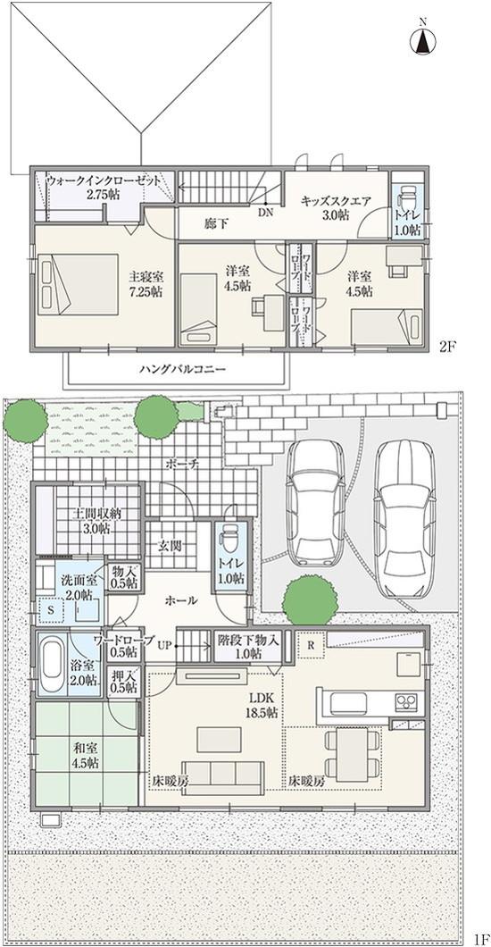 【ダイワハウス】セキュレア瑞穂市役所前 「アクティブ土間のある家」(分譲住宅)の画像
