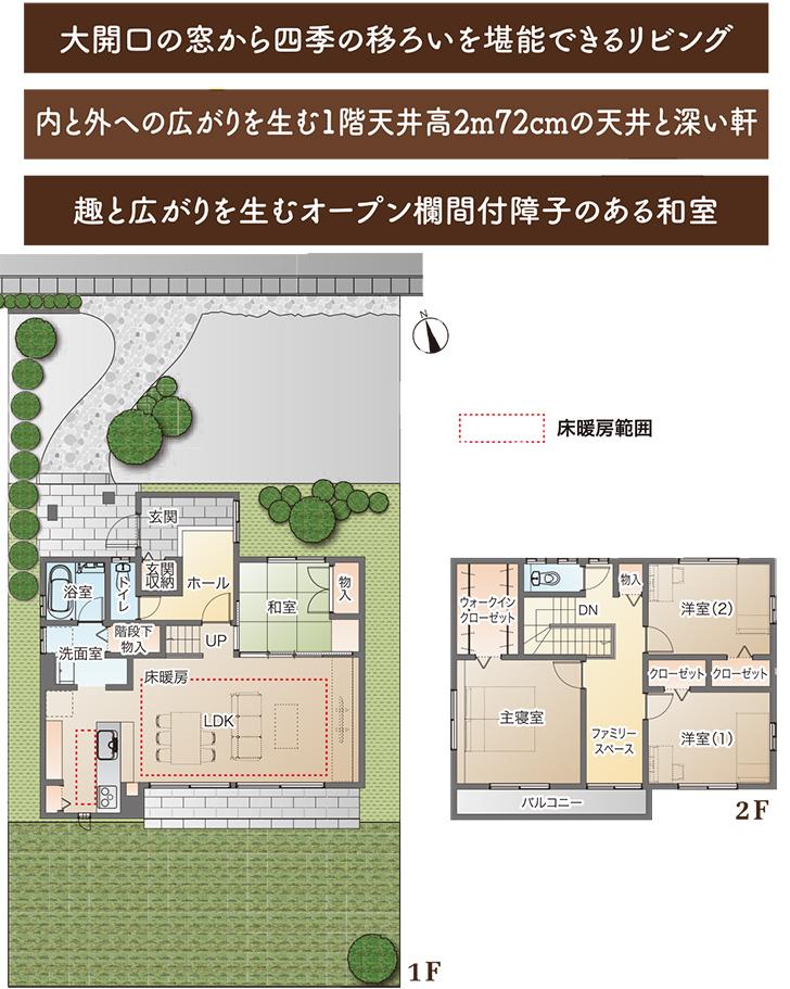 【ダイワハウス】まちなかジーヴォ西田 (分譲住宅)の画像