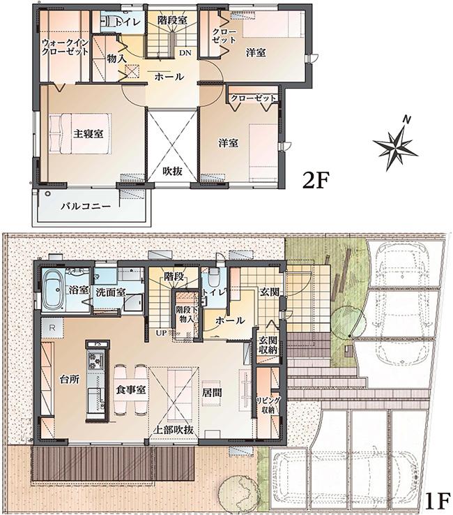 【ダイワハウス】まちなかジーヴォ三ノ輪 B号地(分譲住宅)の画像