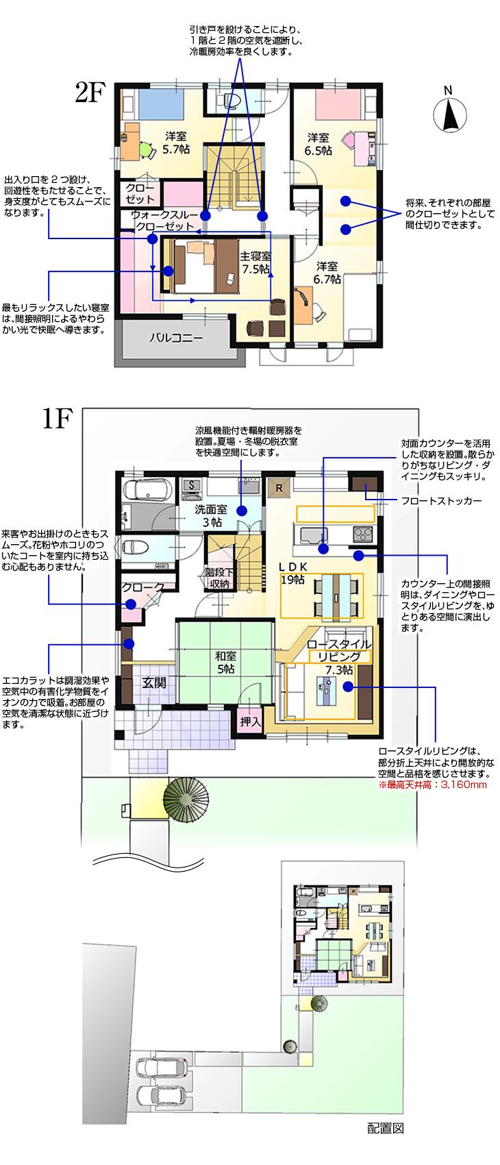 【ダイワハウス】まちなかジーヴォ三本柳III (分譲住宅)の画像