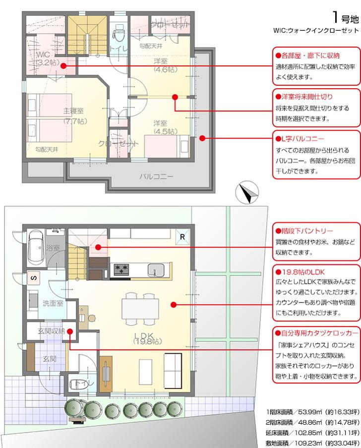 【ダイワハウス】まちなかジーヴォ横濱松ケ丘 (分譲住宅)の画像