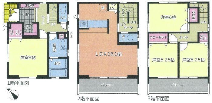 中村区宿跡町二丁目新築分譲住宅の画像