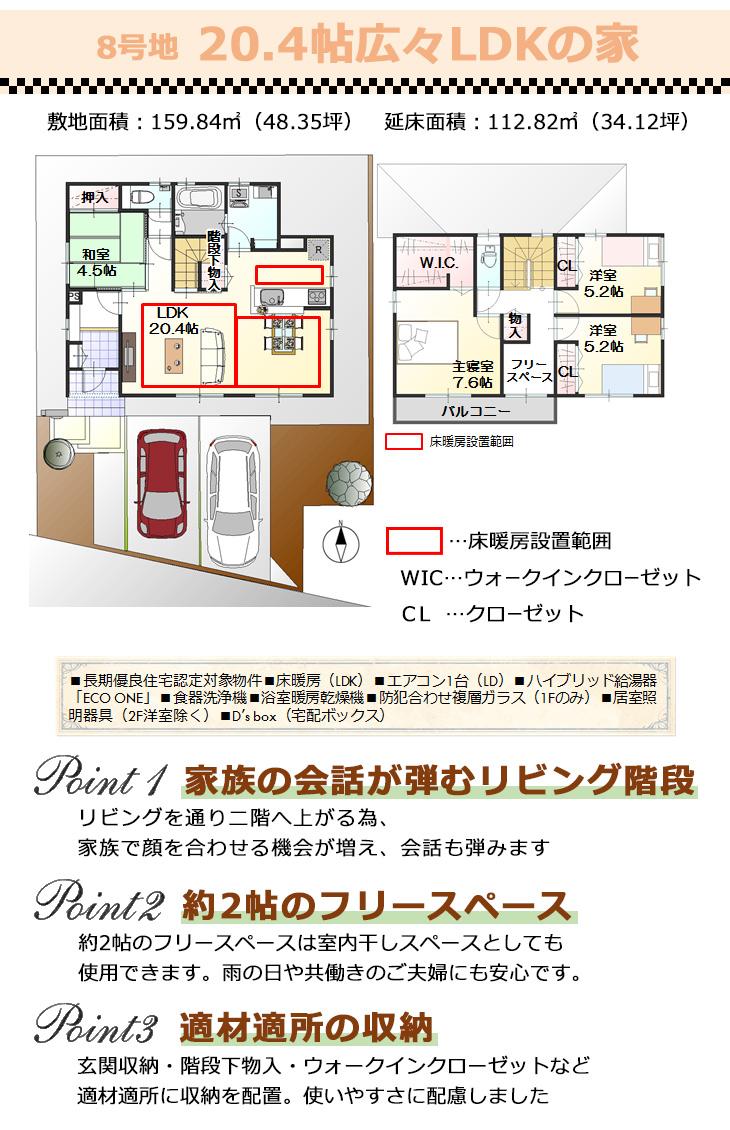 【ダイワハウス】セキュレア高田北条 (分譲住宅)の画像