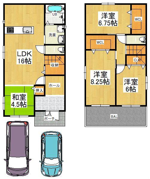 東大阪市御幸町 新築戸建の画像