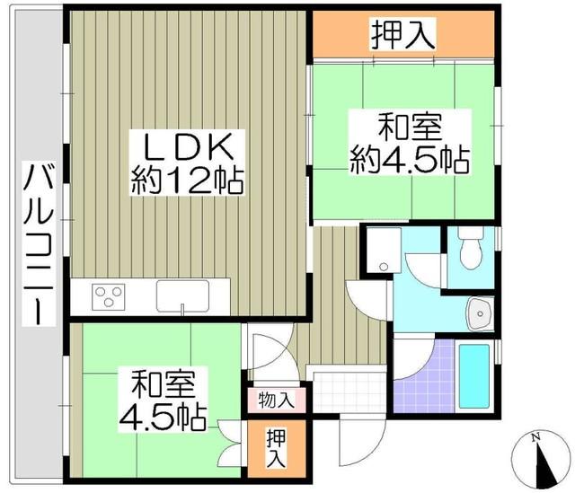 釈尊寺第一住宅4号棟