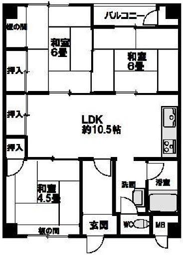千里南町第一次住宅