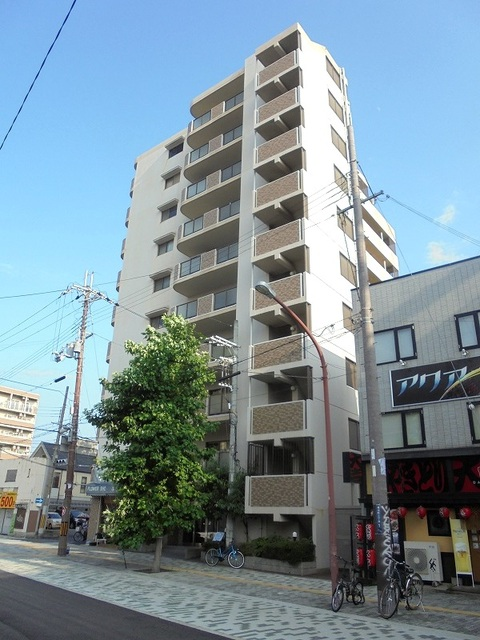 ソレイユ俊徳道 8階