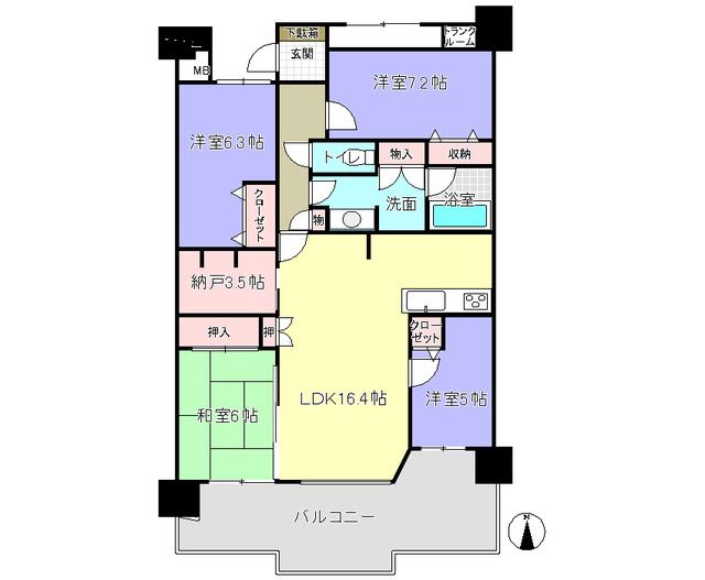 京阪東ロ-ズタウン・フィンガ-デンあゆみヶ丘