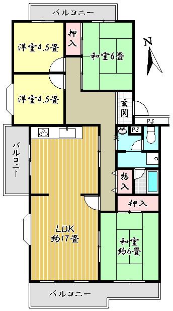 若山台第3住宅8号棟