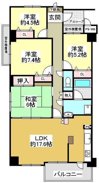藤和ライブタウン三田1号棟
