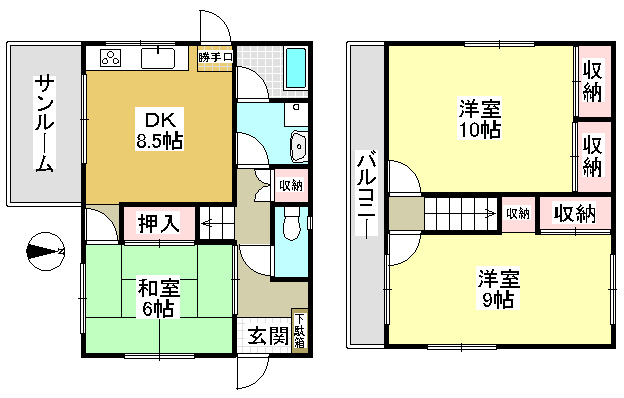 兵庫県神戸市北区泉台