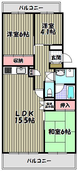 栄南団地6号棟