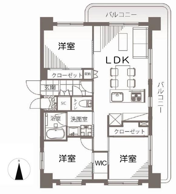 セザ-ル第2武蔵小金井