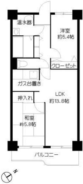 西新井大師扇スカイハイツ