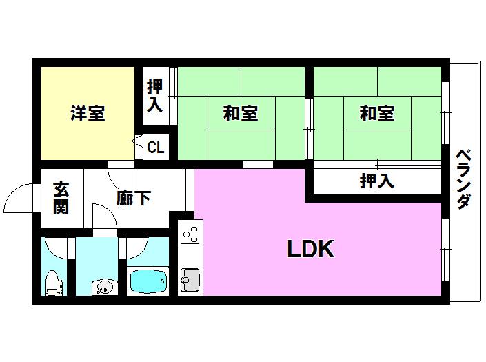 サニ-タウン羽倉崎駅前弐番街