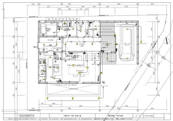 注文住宅パーフェクトガイド | 基本設計図書の見方 展開図 ...
