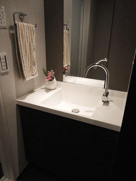 『洗面・バス・トイレ』 洗面所のリフォーム事例 (墨田区)リフォームO-uccino