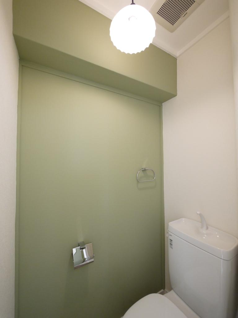 トイレ トイレのリフォーム事例 福岡市南区リフォームo Uccino