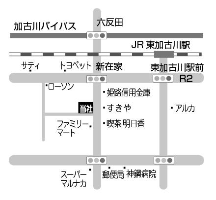 会社案内図