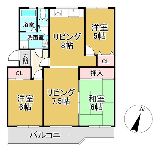 膳所ハイツ11号棟