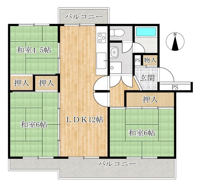 陽和台第三住宅第3号棟