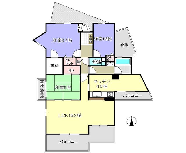 ロ-レルスクエア木津川台9号棟