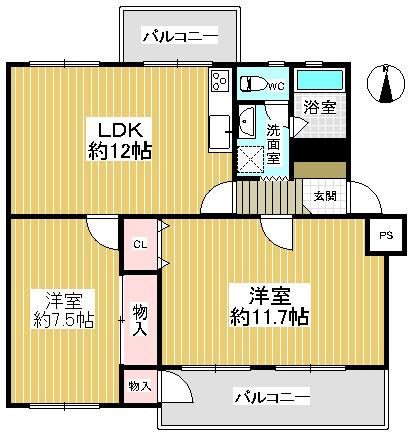 水無瀬青葉ハイツ6号棟