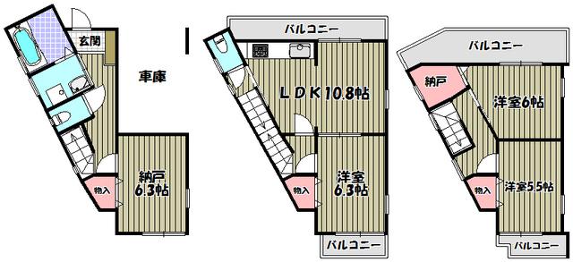 兵庫県伊丹市南野