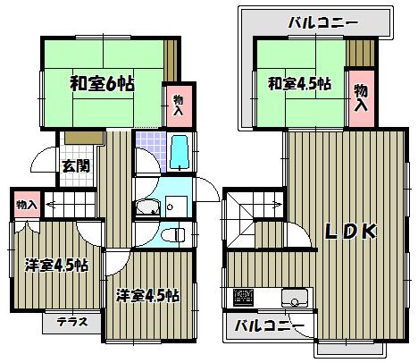 兵庫県伊丹市緑ケ丘