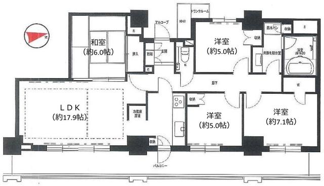プラウドタワ-武蔵浦和ガ-デン