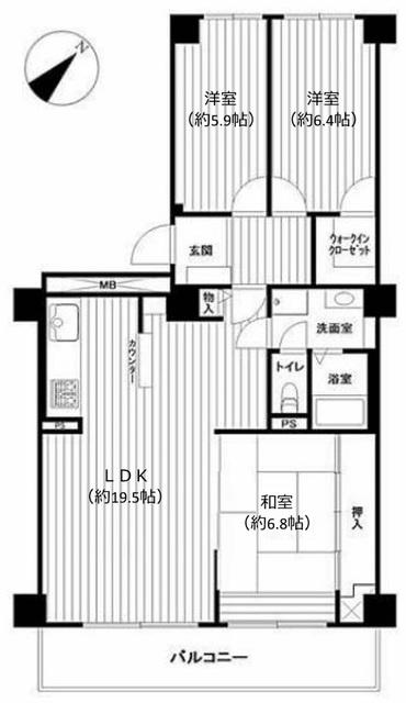 志木ニュータウン中央の森参番街8号棟