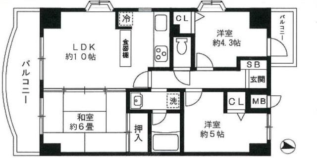 バ-ムハイツ福生弐番館
