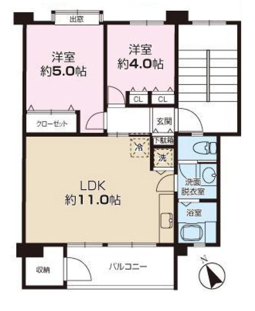 立川富士見町住宅27号棟